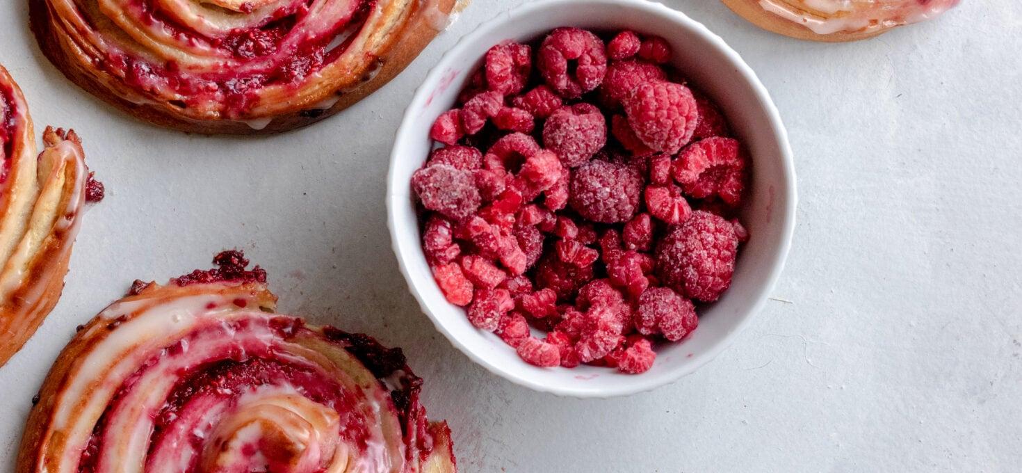 Himbeer Schnecken – German Raspberry Pastries
