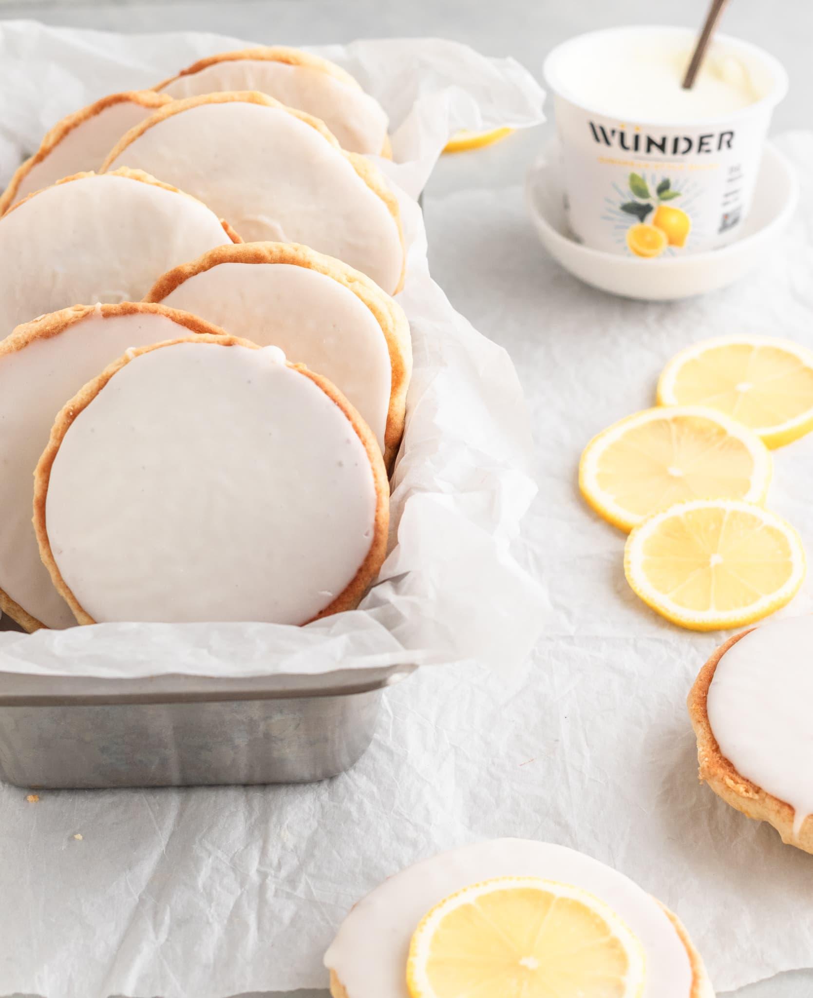 Picture of Lemon Amerikaner Cookies