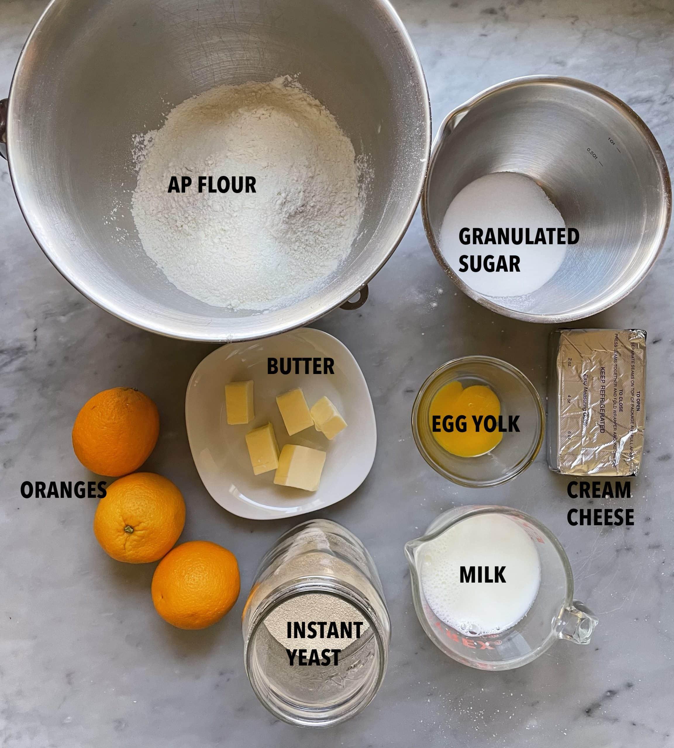 Image of Orange Hefekranz ingredients
