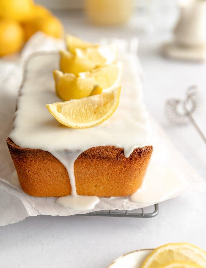 Lemon Sandkuchen
