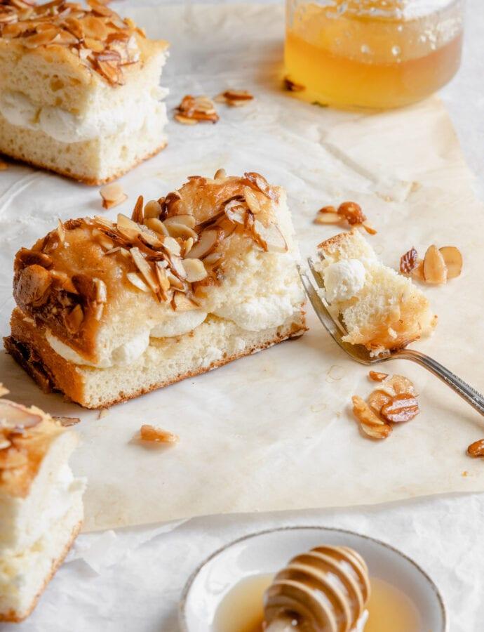 Bienenstich | German Bee Sting Cake