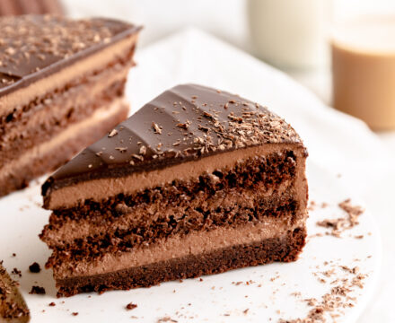 Chocolate Mousse Torte | Schokomousse Torte
