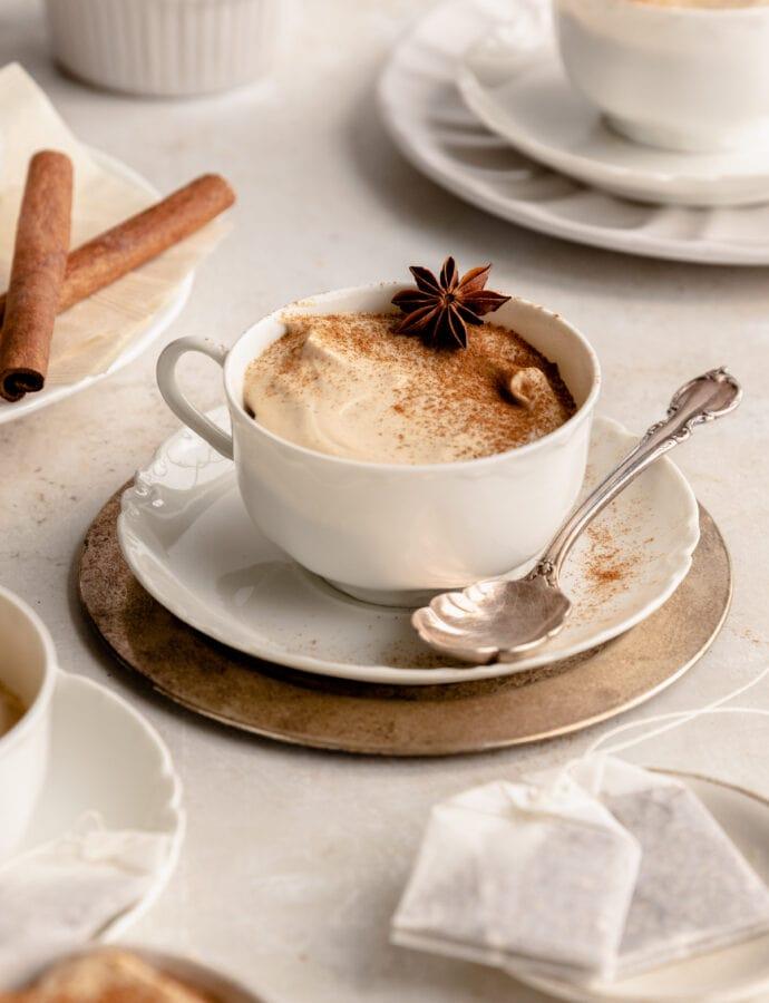 Chai Bayerische Creme | Chai Tea Pudding