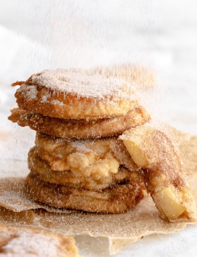 Apfel Ringe | Fried Apple Rings
